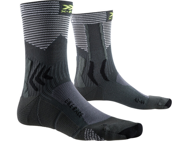 X-Socks Bike Race Socken charcoal/arctic white